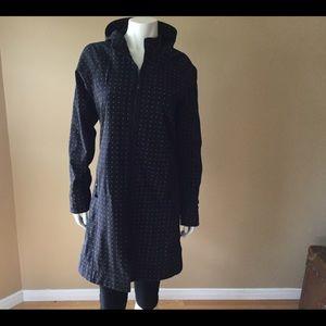 Lululemon black polka dot raincoat